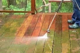 Clean a Cedar Deck