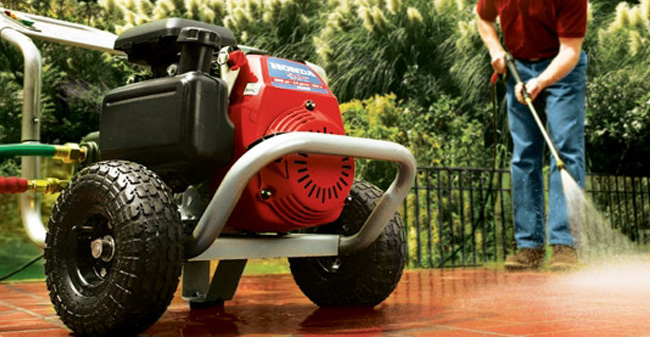 Spotless Cleaning With Pressure Washer