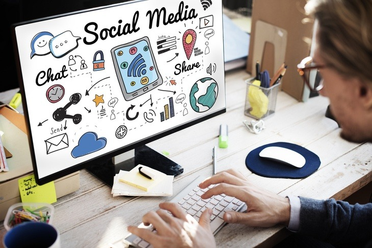 Using social media for marketing efforts