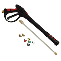 Apache 99023802 Quick-Disconnect Pressure Washer Gun Kit with Wand and Spray Tips, 4,000 PSI