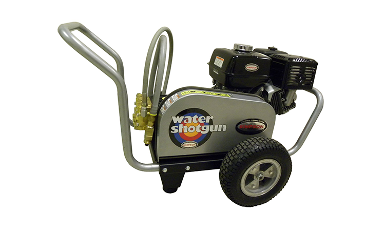 Simpson WS3500 Water Shotgun 3500 PSI 4.0 GPM, Belt Drive Gas Pressure Washer Powered