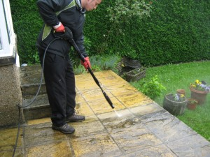 Pressure Wash the Exterior of Home