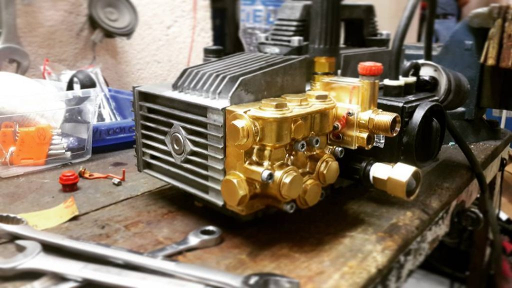 How to Rebuild a Power Washer Pump
