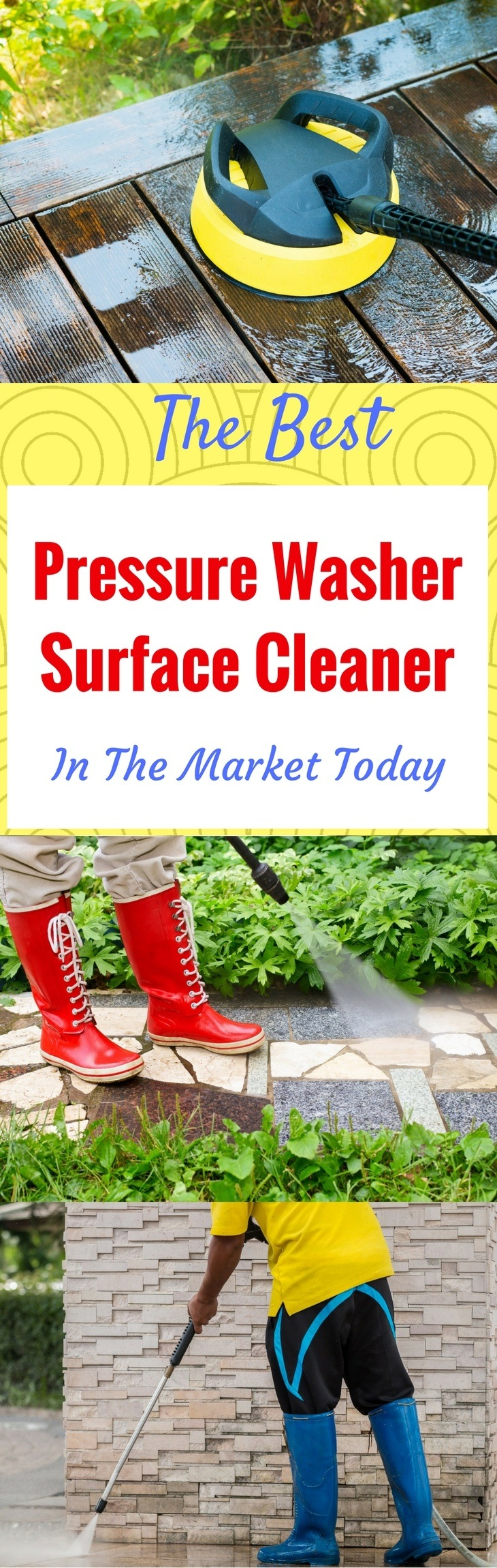 The Best Pressure Washer Surface Cleaner In The Market Today