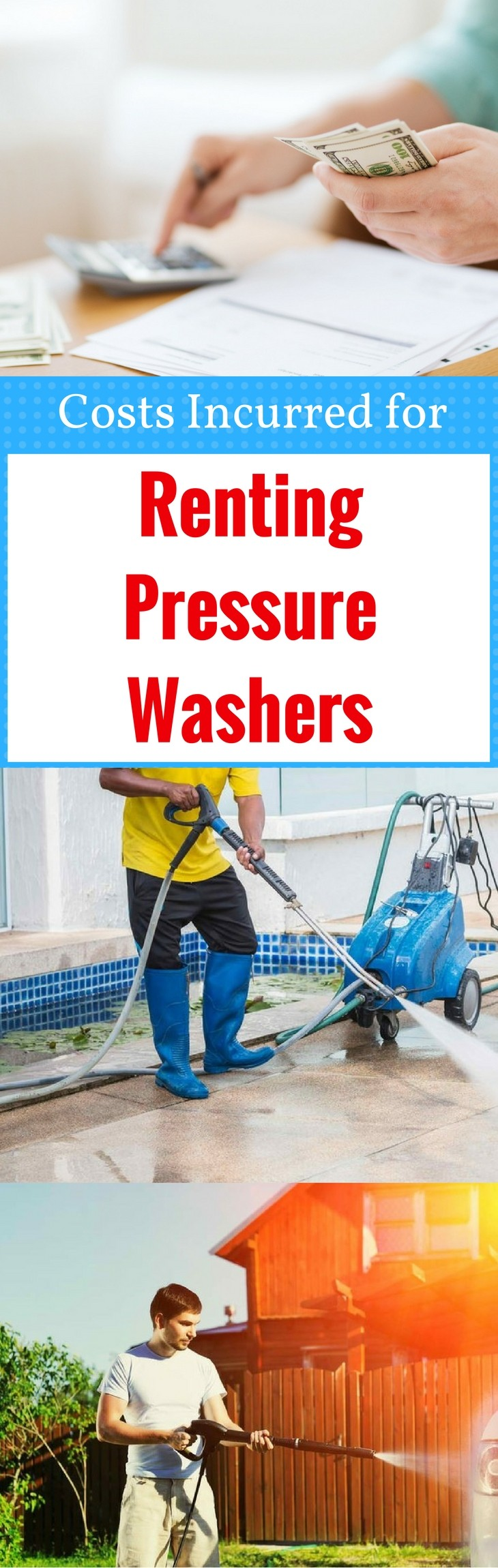 Costs Incurred for Renting Pressure Washers1